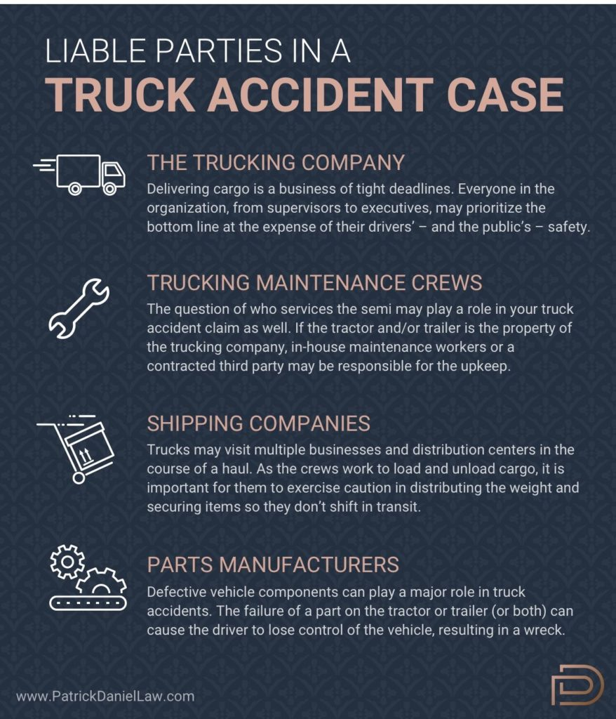 Who Is Liable for Trucking Accidents?